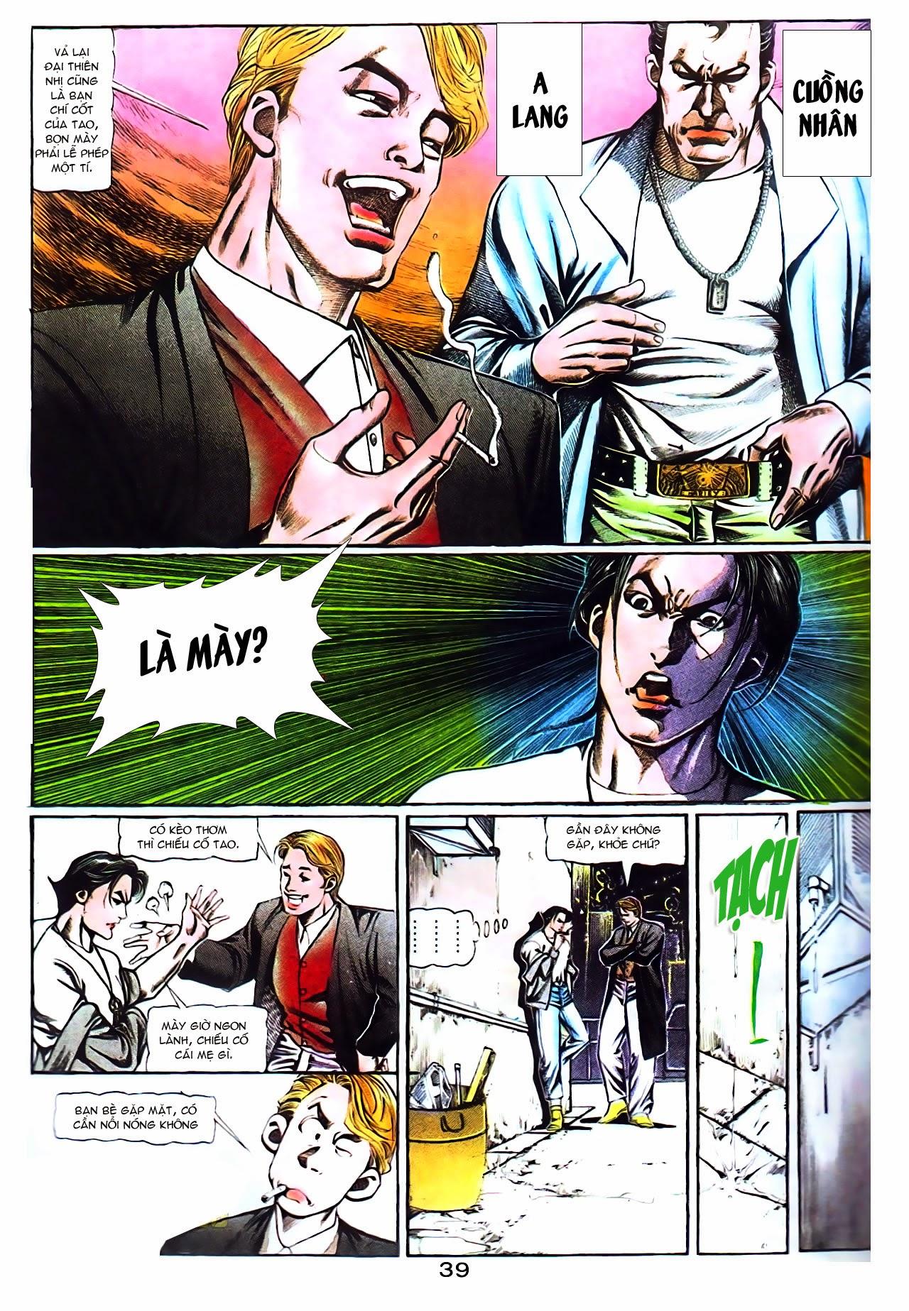 Người Trong Giang Hồ chapter 104: tuổi trẻ máu lửa trang 18