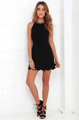 Vestidos negros para señoritas