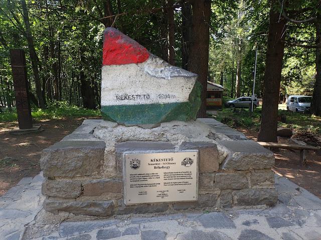 Najwyższa góra Węgier (i ich jedyny tysięcznik) - Kekes