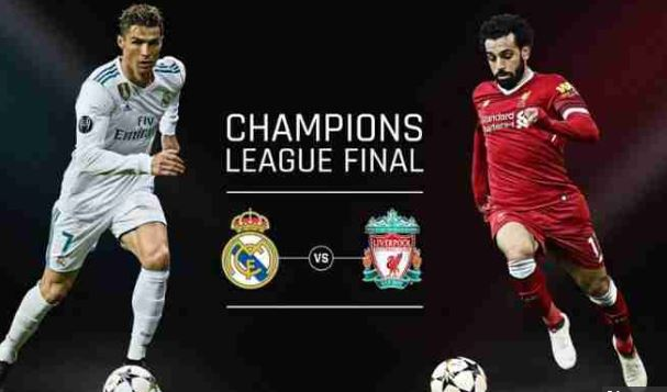 #UCLFinal :Real Madrid VS Liverpool (WATCH HERE)