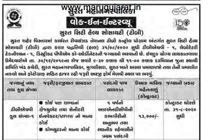RNTCP Surat Recruitment for Various Posts 2019