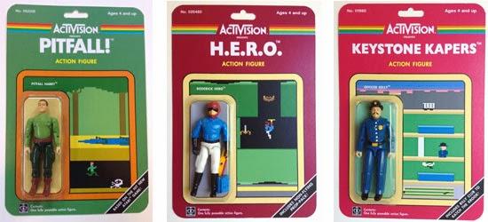 Figuras De Accion De Personajes De Juegos Clasicos Atari Atariteca