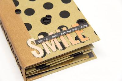 Minibook mit Paperbags