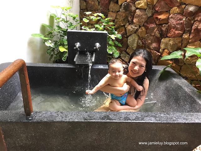 Family at The Tubkaak Boutique Resort in Krabi, Thailand
