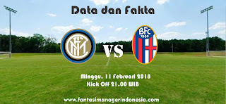 Data dan Fakta Liga Fantasia Serie A Gio 24 Inter vs Bologna Fantasi Manager Indonesia