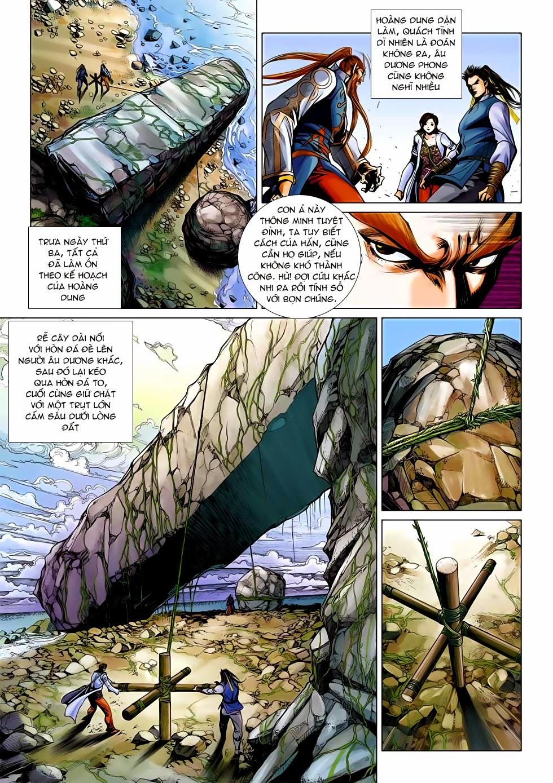 Anh Hùng Xạ Điêu anh hùng xạ đêu chap 54: kiếp hậu dư sinh thiến nữ kỳ mưu trang 29