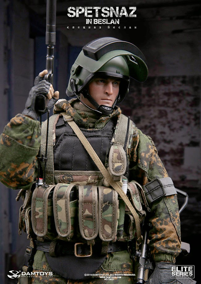12 Russian Supermodels Who Gained International Success: Incoming: Dam Toys 1/6th Scale SPETSNAZ In Beslan (2004