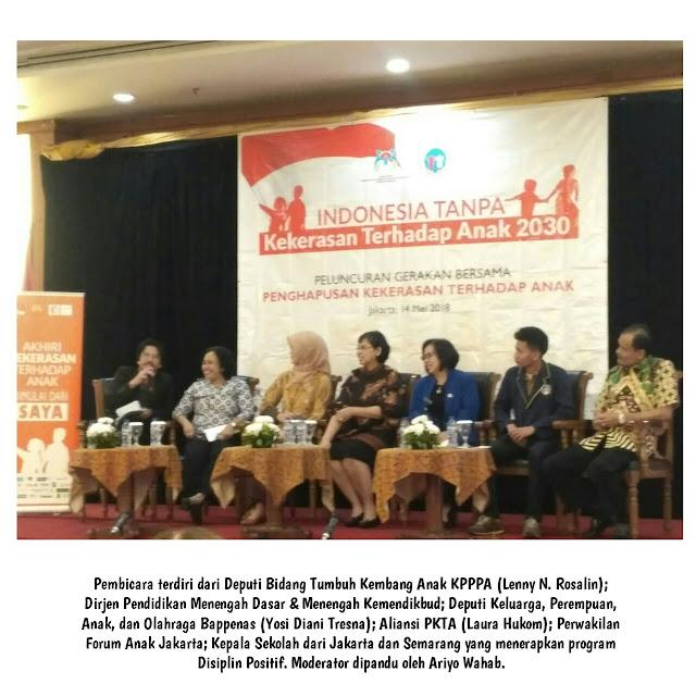 Indonesia Tanpa Kekerasan Terhadap Anak 2030