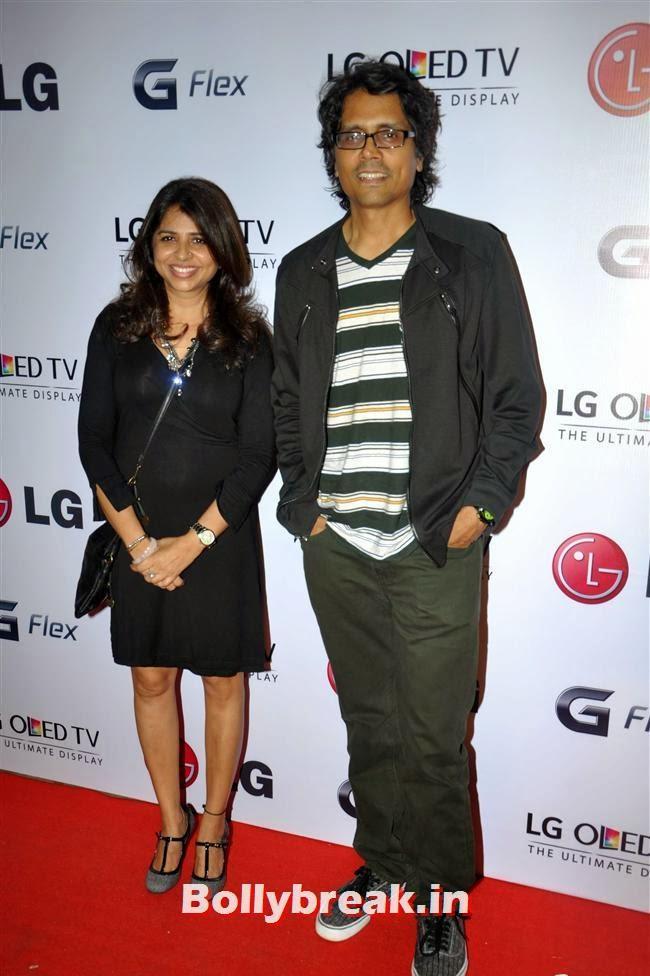 Nagesh Kukunoor, Celebs at LG G Flex Smartphone Launch