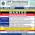 JCT College of Engineering, Coimbatore, Wanted Teaching Faculty / Non-Faculty