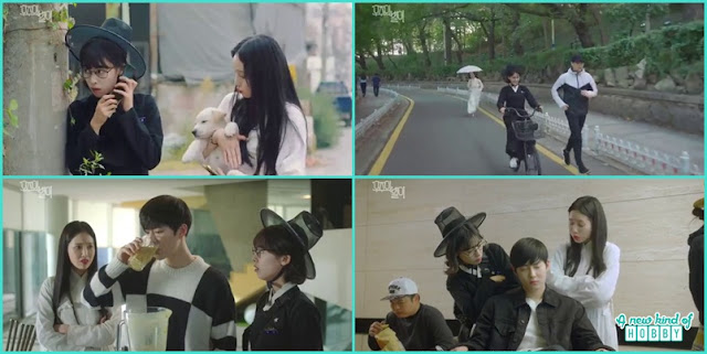 because of the rumors woo jo will die soon byeol i and her friend decided to keep a watch on him - The Universe Star: Review (Three Color Fantasy)