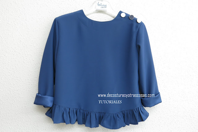 blusa sencilla para niñas