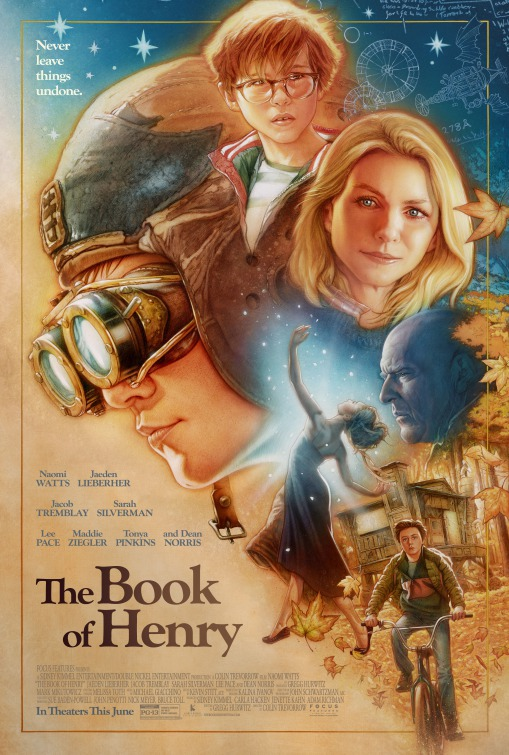 Book of Henry movie poster