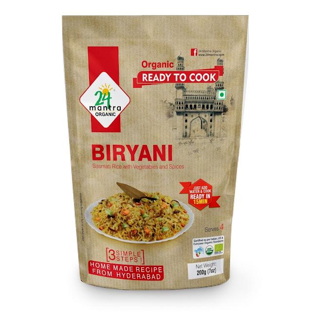24 Mantra Organic Ready To Cook _ BIRYANI