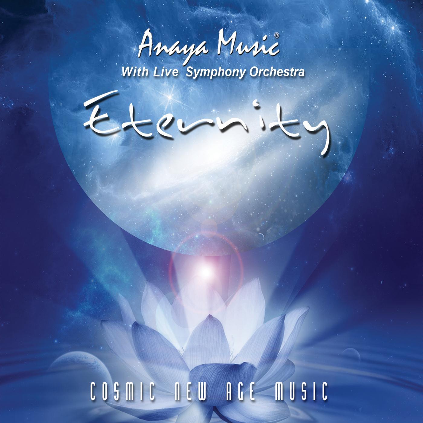cd Anaya Music Álbum: Eternidad  Folder