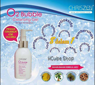 CHRISZEN O2 BUBBLE CLEANSING GEL