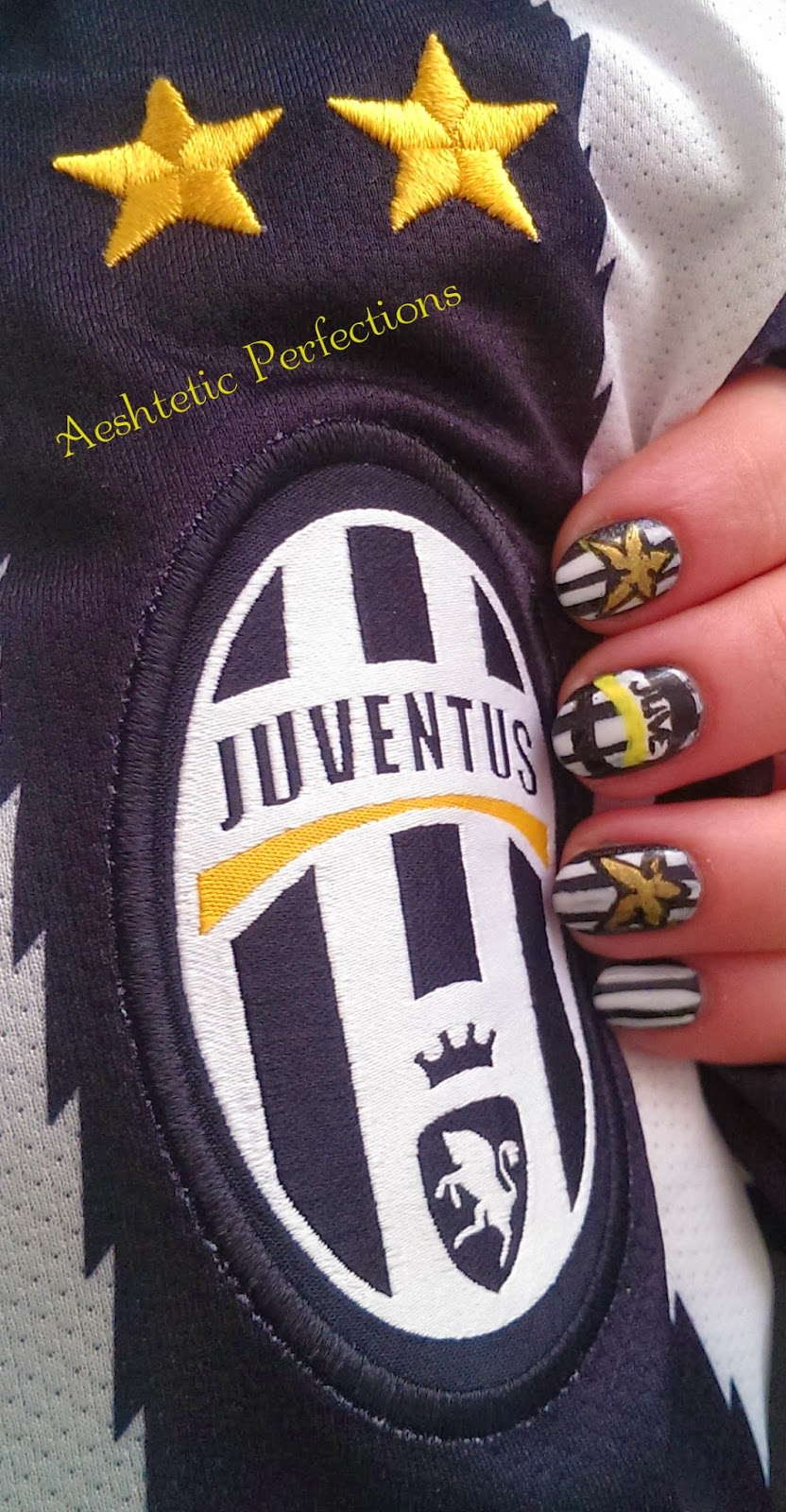 Aesthetic Perfections Fc Juventus Nail Art