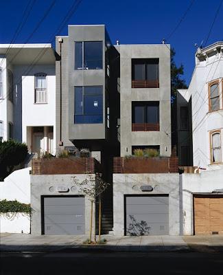 แบบบ้านสองชั้นหน้าแคบ