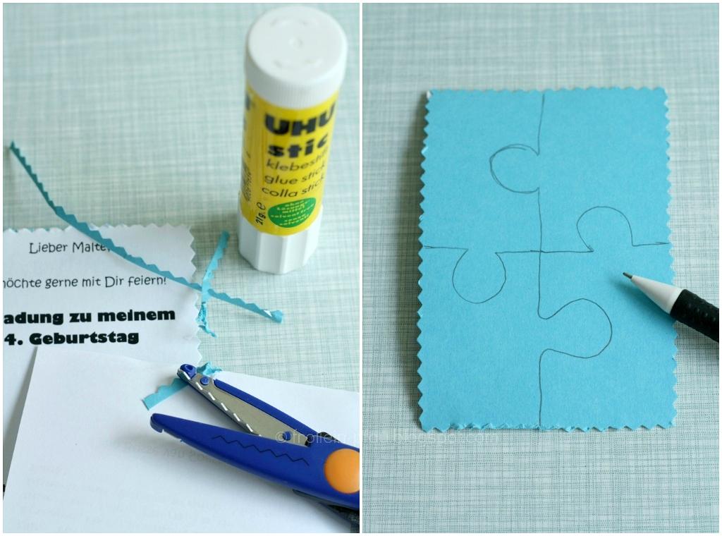 frollein pfau diy einladungen zum kindergeburtstag creadienstag. Black Bedroom Furniture Sets. Home Design Ideas