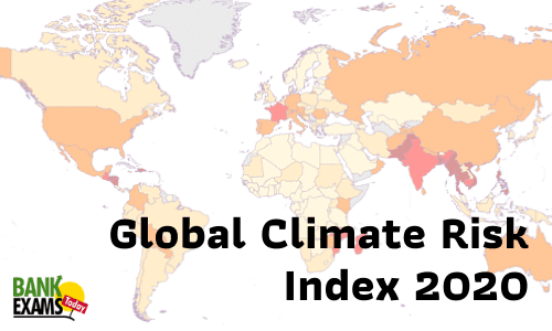 Global Climate Risk Index 2020: Highlights