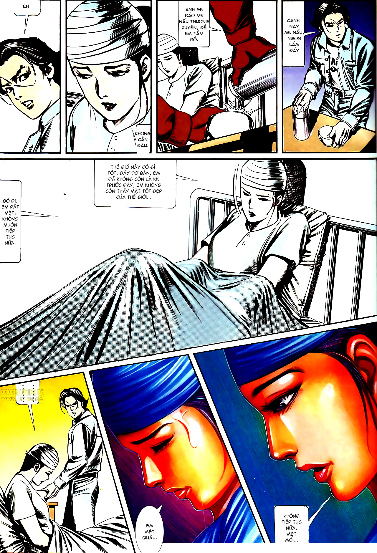 Người Trong Giang Hồ chapter 147: vĩnh biệt kk trang 28
