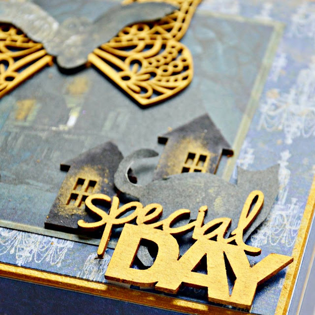 pudełko ozdobione napisem special day