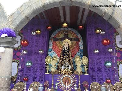 Altar de Dolores en Pátzcuaro, Michoacán