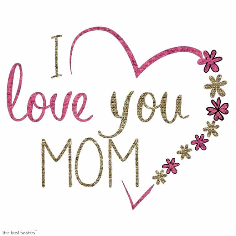 i love you mom picture