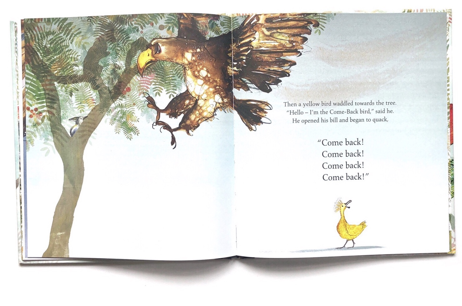 The Go-Away Bird by Julia Donaldson | Children of Books