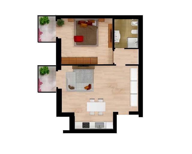 planimetria casa vendita imperia