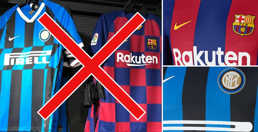 958bb3a2e Fixing the Barcelona and Inter 19-20 Home Kits