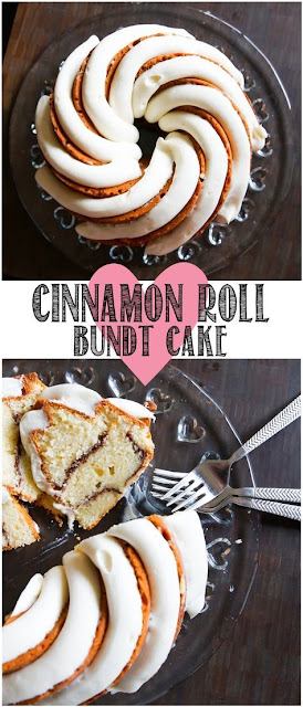 Cinnamon Roll Bundt Cake
