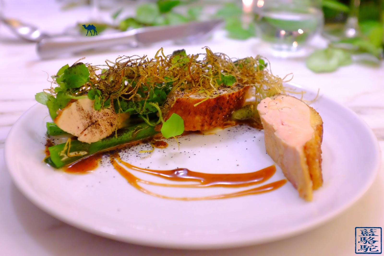 Le Chameau Bleu - Blog Gastronomie et Voyage - NoGlu Paris - Poularde, Poireaux , Crème de camembert