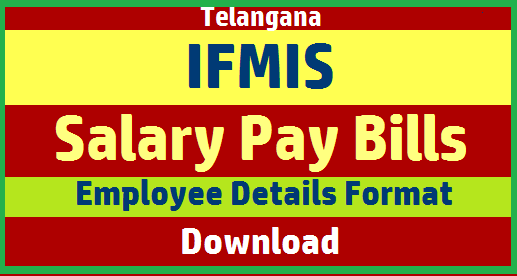 Telangana Employees and Teachers Basic Information Collection format Download here. TS Teachers and employees have to submit their basic details personal , Professional Academic qualifications Service related important dates CPS Number TSGLI Number Bank Account Details for Salary Bill Preparation at http://pdtreasury.telangana.gov.in ts-teachers-employees-ifmis-basic-details-data-collection-empty-format-for-salary-pay-bills-download