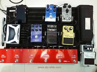 adaptor efek gitar dc10 ALV