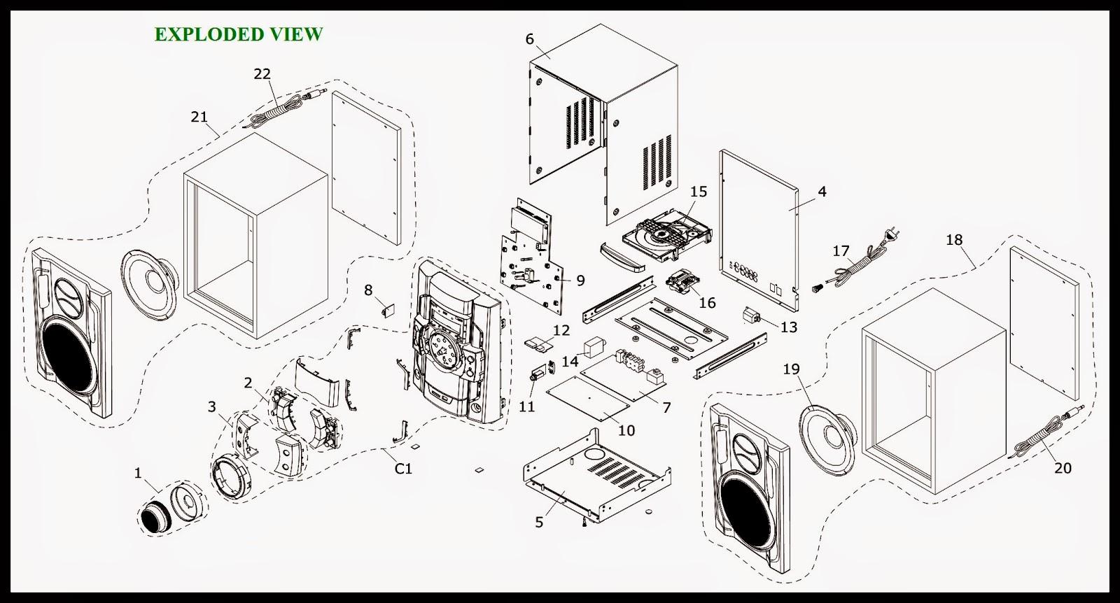 PHILCO MINI SYSTEM – PH400N