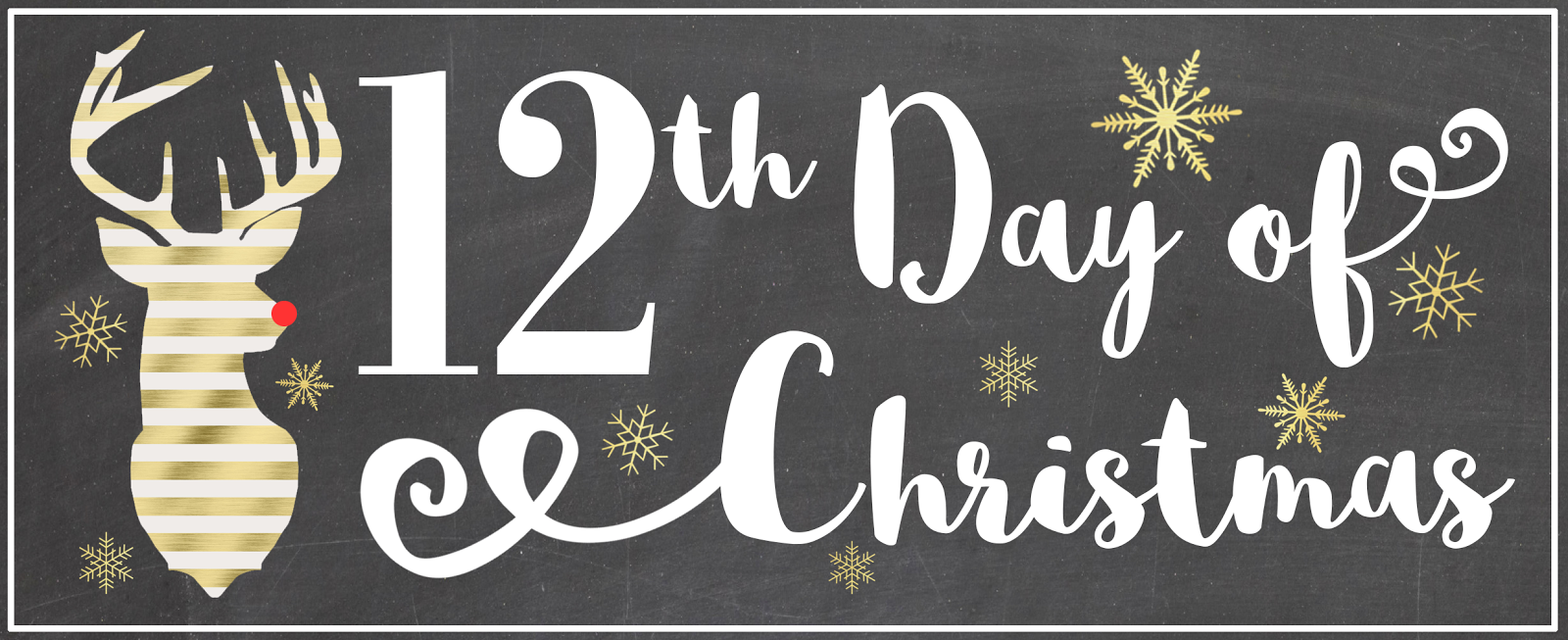 On The 12th Day Of Christmas.Aly Dosdall 12th Day Of Christmas Merry Christmas A
