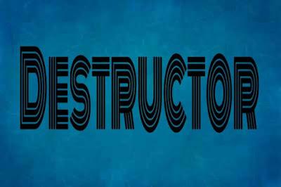 destructor in c++ programming, learn c++ programming