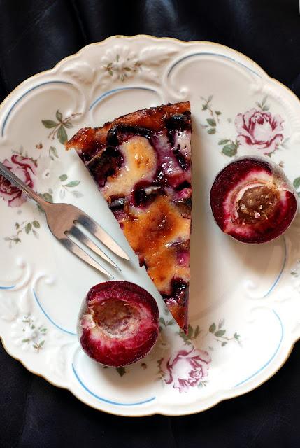 Tarte vom roten Weinbergpfirsich #Backen #Tarte #Pfirsich #Kuchen