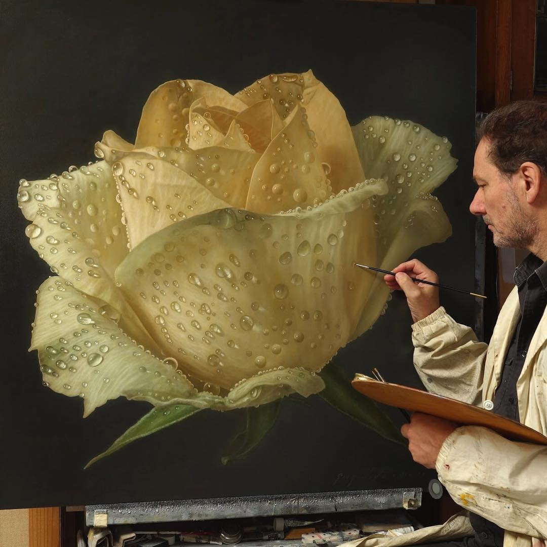 06-Gioacchino-Passini-Realistic-Paintings-of-Flowers-and-Roses-www-designstack-co