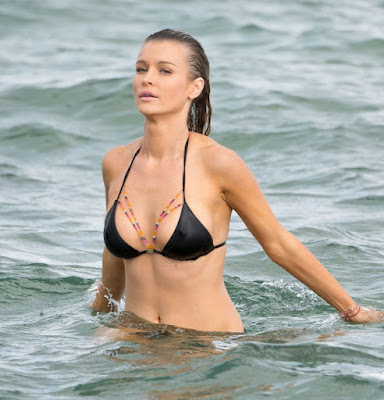 Joanna Krupa Hot in Bikini – Beach in Miami