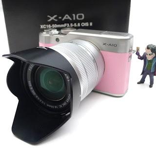 Kamera Mirrorless Fujifilm X-A10 ( Fullset )