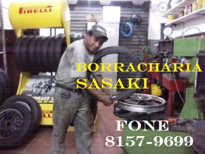 Borracharia do  Sasaki , Gelson 8157-9699 em Registro-SP