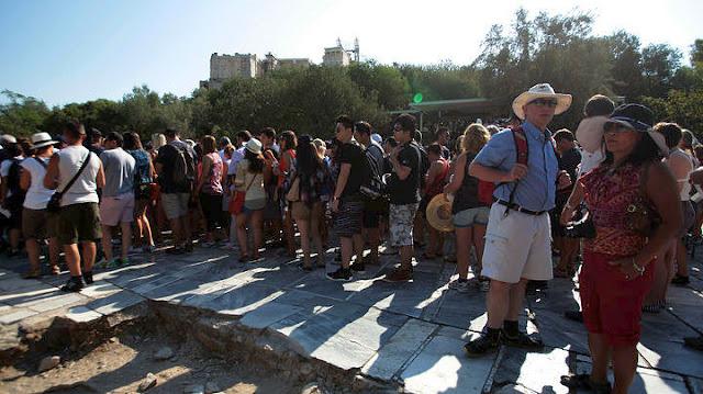 Μόνο το 2,6% από τα τουριστικά έσοδα καρπώθηκε η Πελοπόννησος