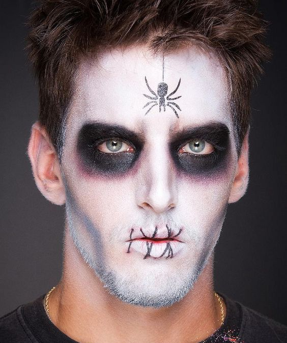 Halloween Makeup Looks For Guys.20 Halloween Makeup Ideas For Guys To Look Terrifying On This
