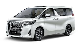 Toyota Alphard Warna White Pearl