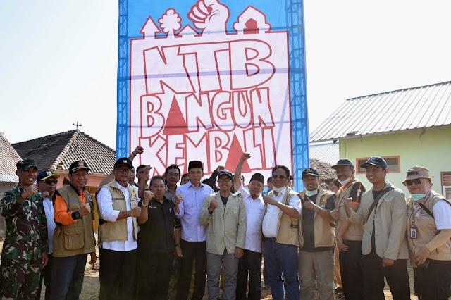<b>TGB: Jangan Lagi Bersedih, Saatnya Bersatu Bangun Kembali NTB</b>