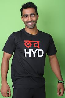 Love Hyderabad Led T shirts