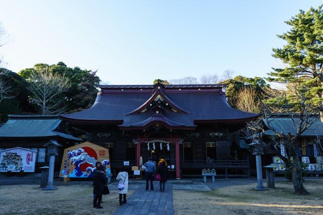 大洗磯前神社(茨城)・社殿
