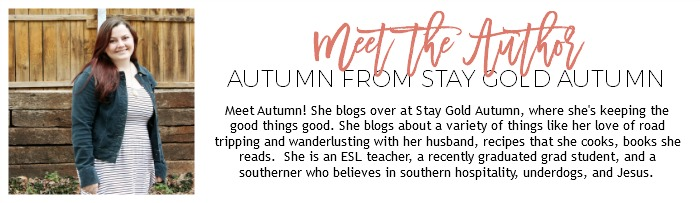 Meet the Author: Autumn from Stay Gold Autumn